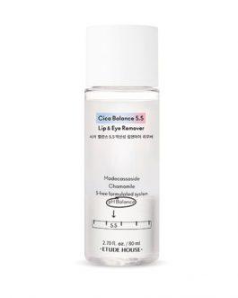Etude House Cica Balance 5.5 Lip & Eye Remover
