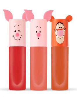 Etude House Happy With Piglet Color In Liquid Lipps Air Mousse
