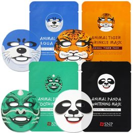 SNP Animal Mask(Dragon,Otter,Tiger, Panda)
