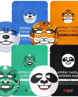 SNP Animal Mask(Dragon,Otter,Tiger, Panda)