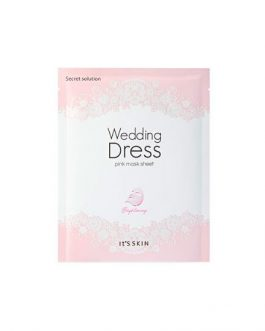 It's Skin Wedding Dress Pink Mask Sheet