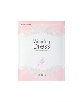 It's Skin Wedding Dress Pink Mask Sheet
