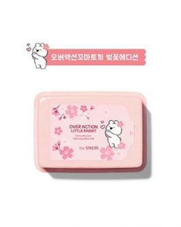 The Saem (Over Action Little Rabbit)Healing Tea Garden Cherry Blossom Cleansing Water Pad