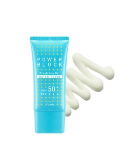 A'PIEU Power Block Water Proof Fresh Sun Gel SPF50+ PA++++