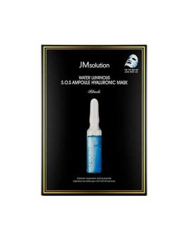 JM Solution Water Luminous S.O.S Ampoule Hyaluronic Mask