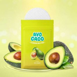 SCINIC Avocado Cleansing Milk Pads