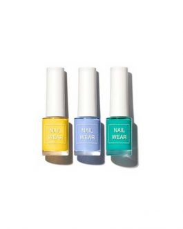 The SAEM Summer Beach Collection Nail wear