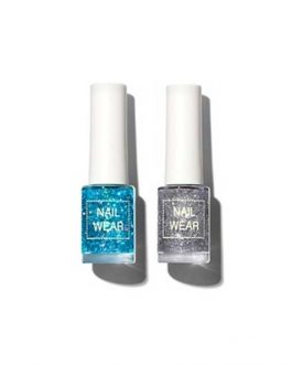 The SAEM Summer Beach Collection Nail wear Glitter