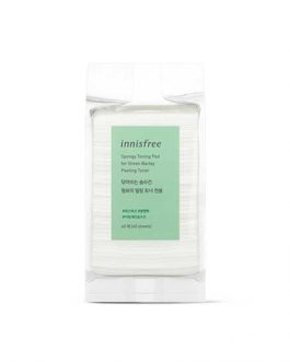 Innisfree Spongy Toning Pad for Green Barley Peeling Toner