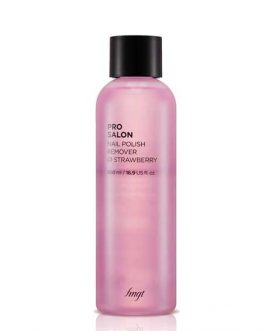 The FACE Shop PRP SALON NAIL POLISH REMOVER STRAWBERRY 500ml