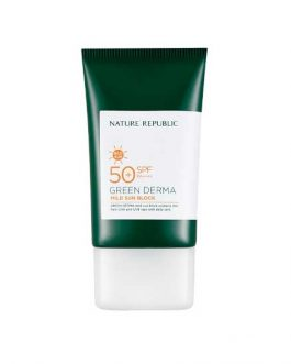Nature Republic Green Derma Mild Sun Block SPF 50+ PA++++