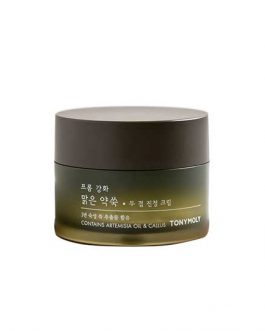 TonyMoly From Ganghwa Mugwort Fermented Two Layers Soothing Cream