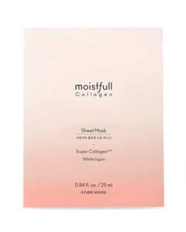 Etude House New  MOIST FULL COLLAGEN SHEET MASK