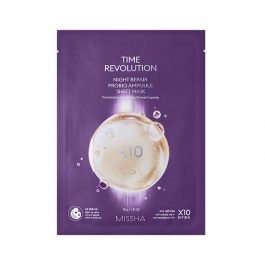 MisshaTIME REVOLUTION  NIGHT REPAIR PROBIO AMPOULE SHEET MASK