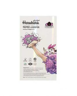 Haruharu Prologue Maqui Berry Mask  Starters Kit