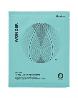 Haruharu Wonder Honey Green  Aqua Bomb Mask