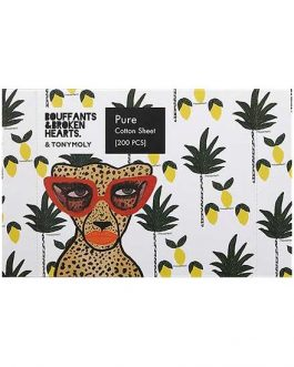 TonyMoly Bouffants&Broken Hearts Pure Cotton Sheet(200Pcs)
