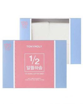 TonyMoly 1/2 Saving Cotton Sheet(120pcs)
