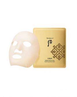 The Whoo Radiant Regenerating  Gold Concentrate Mask
