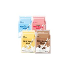 G9SKIN MILK BOMB  MASK 21ml * 5ea