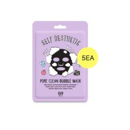 G9SKIN Self Aesthetic Pore  Clean Bubble Mask
